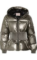 Hunter Original Outer Space Metallic Coated Cotton Down Jacket - Lyst
