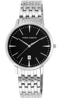 Vince Camuto Silver Tone Round Watch with Stainless Steel Bracelet - Lyst