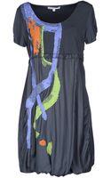 Didier Parakian Short Dress - Lyst