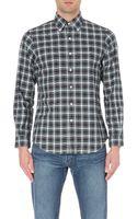 Ralph Lauren Check Print Cotton Shirt - Lyst