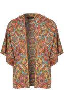 Jane Norman Tile Print Kimono - Lyst