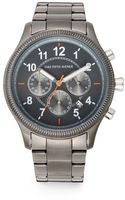 Saks Fifth Avenue Grey Stainless Steel Watch - Lyst