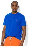 Ralph Lauren Polo Classicfit Cotton Jersey Pocket Tshirt - Lyst
