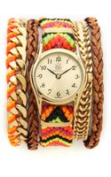 Sara Designs Bright Woven Magenetic Watch - Lyst