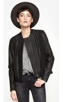 Helmut Lang Sweatshirt Combo Jacket - Lyst