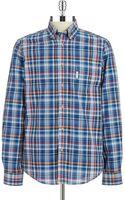Ben Sherman Regular Fit Plaid Sport Shirt - Lyst
