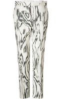 3.1 Phillip Lim Cottonsilk Classic Pencil Pants - Lyst