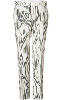 3.1 Phillip Lim Cottonsilk Classic Pencil Pants - Lyst