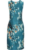Philosophy Floraljacquard Pencil Dress - Lyst