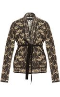 Isabel Marant Palm Tree Jacket with Belt - Lyst