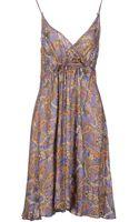 John Galliano Kneelength Dress - Lyst