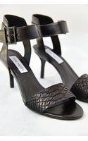 Steve Madden Bel Aire Snake Anklewrap Heeled Sandal - Lyst