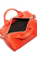 Alexander Wang Rocco Studbottom Duffel Bag Cola Red - Lyst