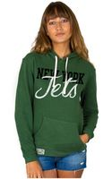 Junk Food Womens New York Jets Sunday Hoodie - Lyst