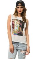 Obey The Night Visions Tank - Lyst