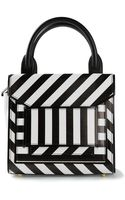 Pierre Hardy Striped Shoulder Bag - Lyst