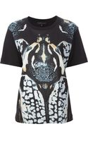 Barbara Bui Beetle Print Tshirt - Lyst