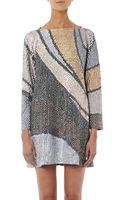 Marc Jacobs Wave Sequin-embellished Dress - Lyst