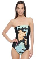 Ella Moss Belle Floral One Piece Swimsuit - Lyst