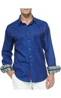 Robert Graham Tidepool Long-sleeve Sport Shirt - Lyst