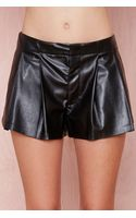 Nasty Gal Pleat It Short - Lyst