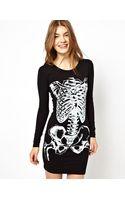 Brave Soul Skeleton Dress - Lyst
