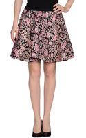 MSGM Mini Skirt - Lyst