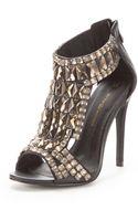 Little Mistress Jewel Embellished Sandals - Lyst