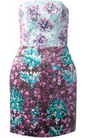 Mary Katrantzou Diaby Ponker Pencil Dress - Lyst