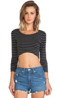 Lovers + Friends Zenia Crop Top - Lyst