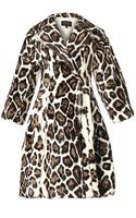 Giambattista Valli Leopardprint Fur Coat - Lyst