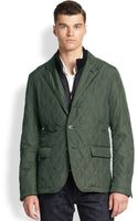 Rainforest Waxed Quilted Jacket - Lyst