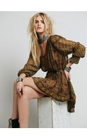 Free People Crosstown Patterns Tunic - Lyst