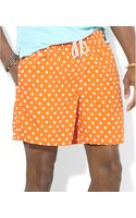 Polo Ralph Lauren Polo Traveler Dotted Swim Shorts - Lyst