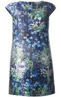 Mary Katrantzou Jq Bayly Shimmering Dress - Lyst