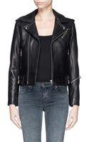 Iro Chaya Leather Biker Jacket - Lyst