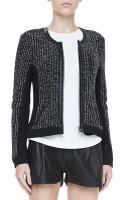 Rag & Bone Paula Knit Zip Jacket - Lyst