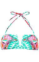 Mara Hoffman Cosmic Fountainprint Bikini Top - Lyst