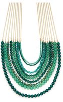 Cara Couture Multistrand Necklace - Lyst