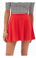Forever 21 Pocket Skater Skirt - Lyst