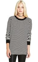BCBGeneration Mini Striped Boyfriend Sweater - Lyst