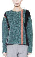 T By Alexander Wang Boil Tweed Pullover - Lyst