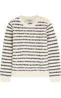 Valentino Intarsia Wool Sweater - Lyst