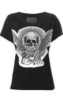 Philipp Plein Skull Print Tshirt - Lyst