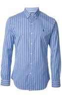 Ralph Lauren Blue Label Shirt - Lyst