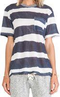 Nsf Clothing Kelli Striped Tee - Lyst