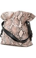 Loewe Pre-order Small Python Flamenco Knot Bag - Lyst