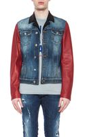DSquared2 Denim Jacket - Lyst