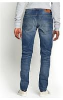 G-star Raw Mens Low Tapered Jeans - Lyst