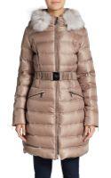 Dawn Levy Laya Fur-trimmed Down Puffer Coat - Lyst